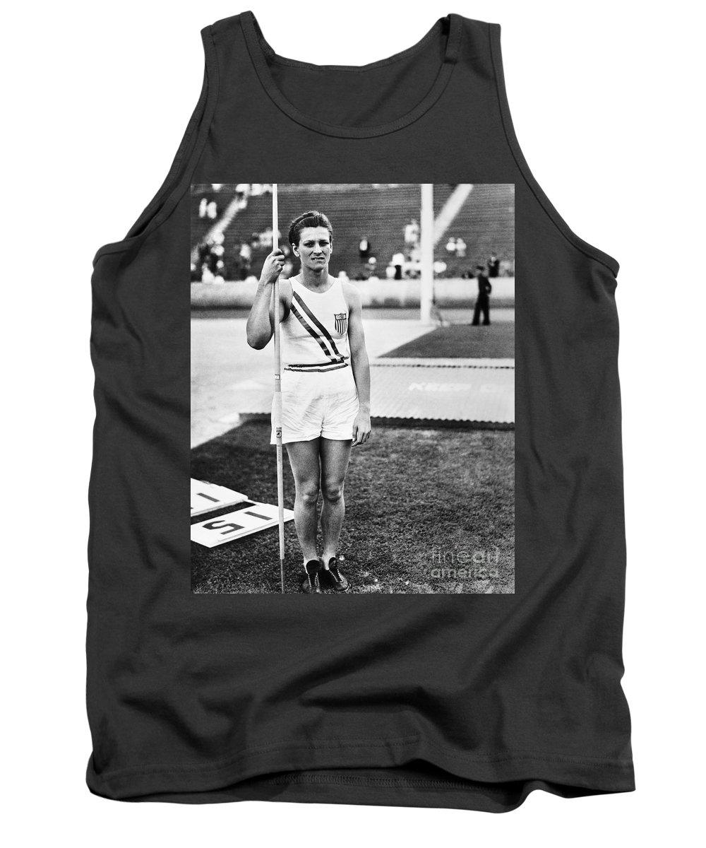 1932 Tank Top featuring the photograph Babe Didrikson Zaharias by Granger