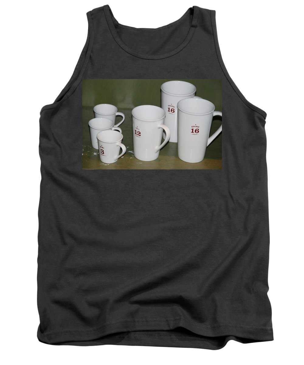 Cups Tank Top featuring the photograph Cups by Rob Hans