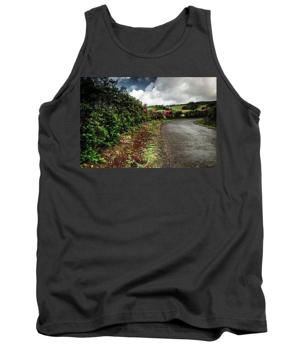 Flores Island Tank Top featuring the photograph Flores Island - Azores by Edgar Laureano