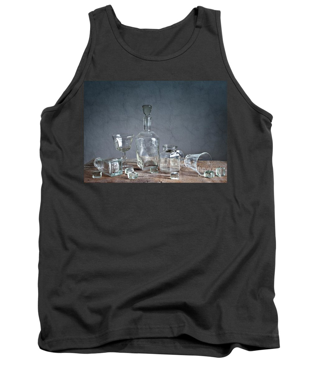 Glass Tank Top featuring the photograph Glass by Nailia Schwarz