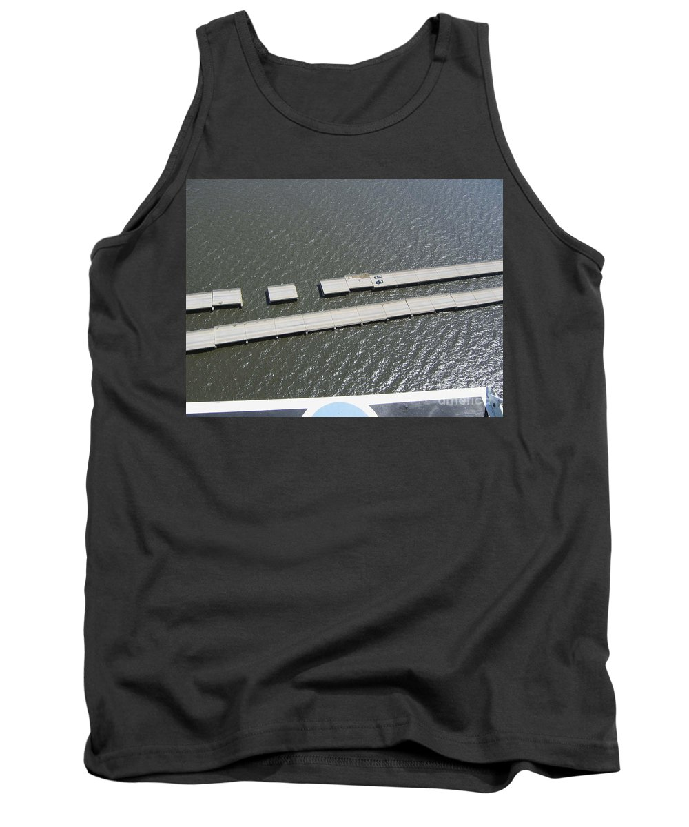 Katrina Tank Top featuring the photograph Hurricane Katrina Damage by Science Source