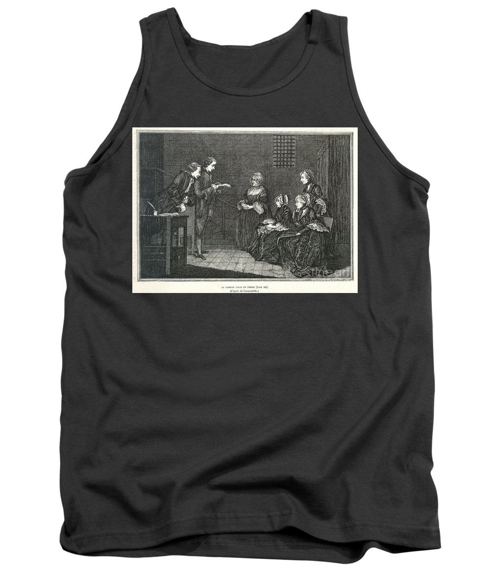 18th Century Tank Top featuring the photograph Jean Calas (1698-1762) by Granger