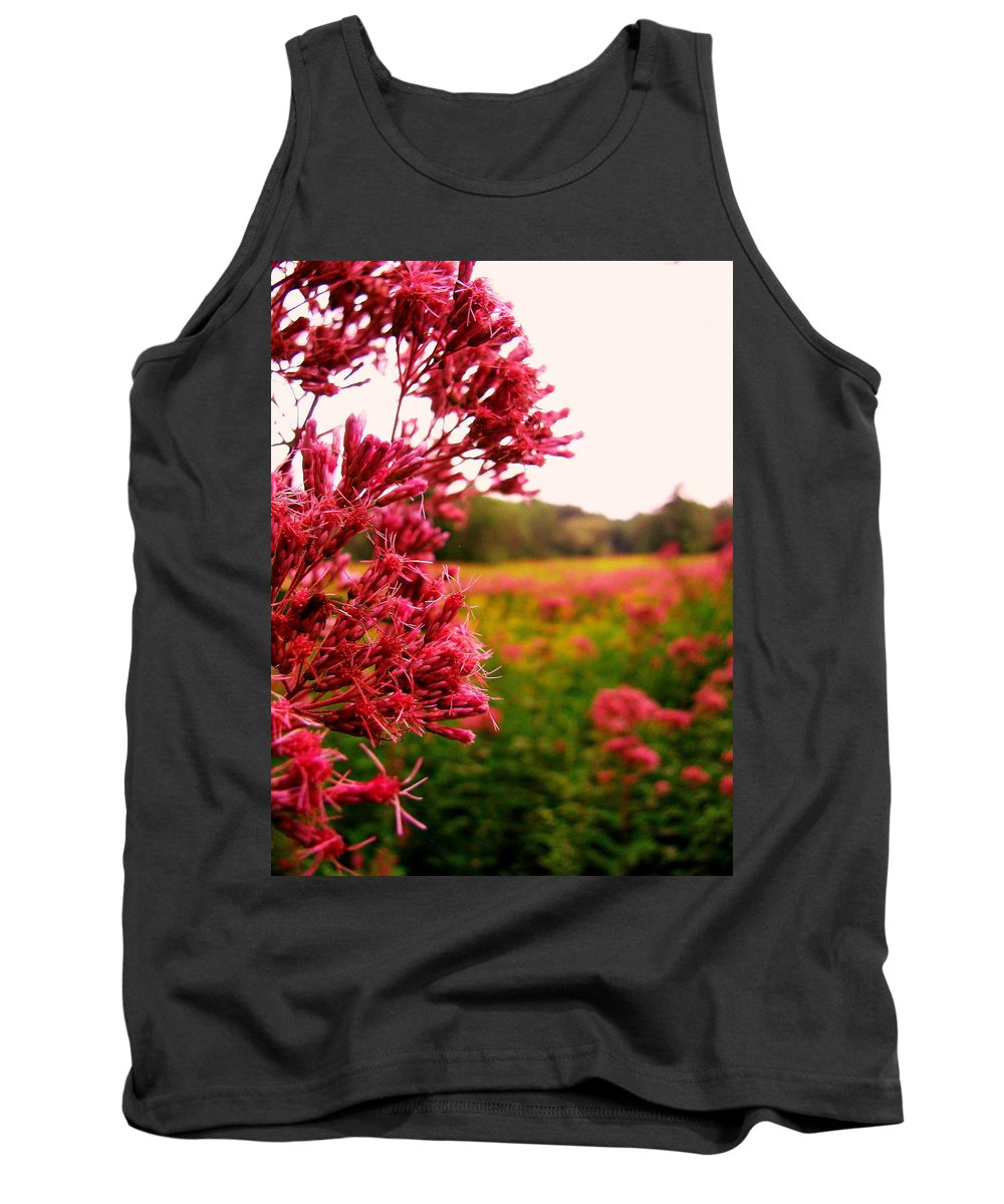 Flower Tank Top featuring the photograph Meadow by Jeff Heimlich