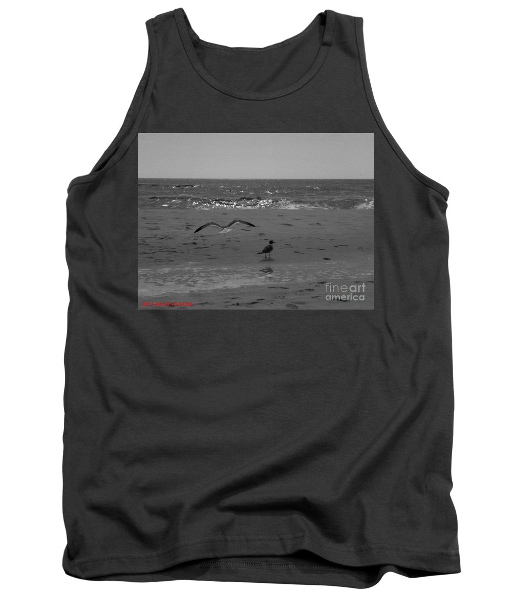 Beach Tank Top featuring the photograph Navarre Beach by Janice Spivey