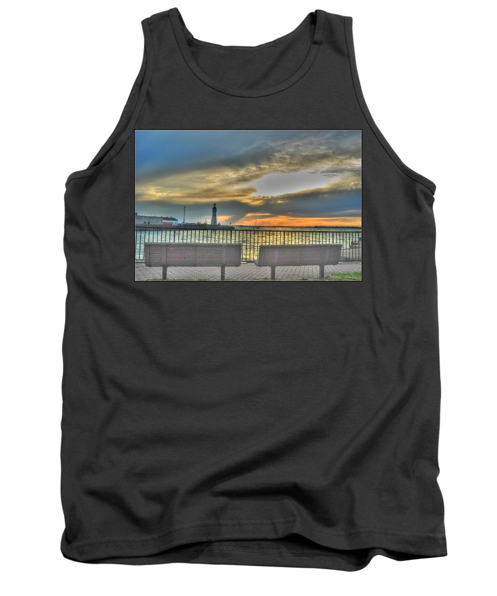 Tank Top featuring the photograph Patiently Waiting by Michael Frank Jr
