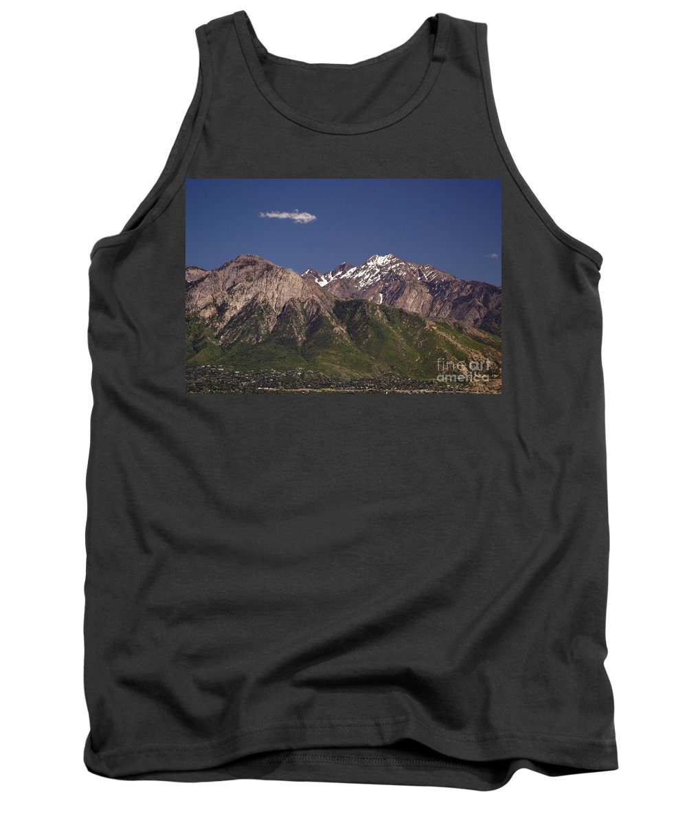 Salt Lake City Tank Top featuring the photograph Salt Lake City by Living Color Photography Lorraine Lynch