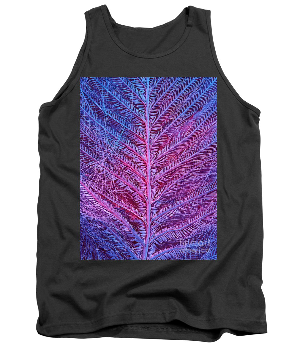 Fauna Tank Top featuring the photograph Sem Of Eastern Bluebird Feathers by Ted Kinsman