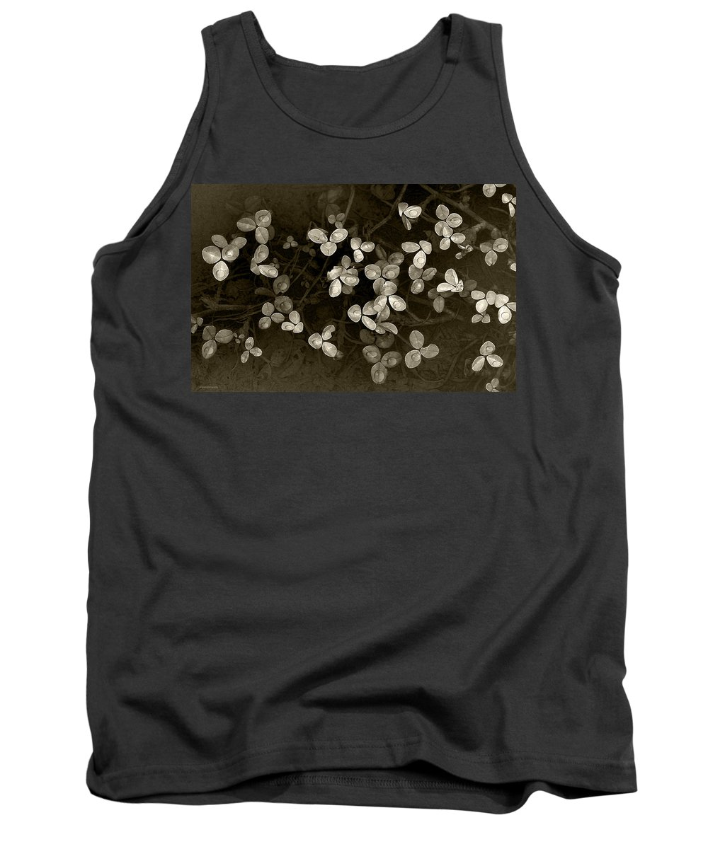 Spring Tank Top featuring the photograph Spring Clover by Ron Jones