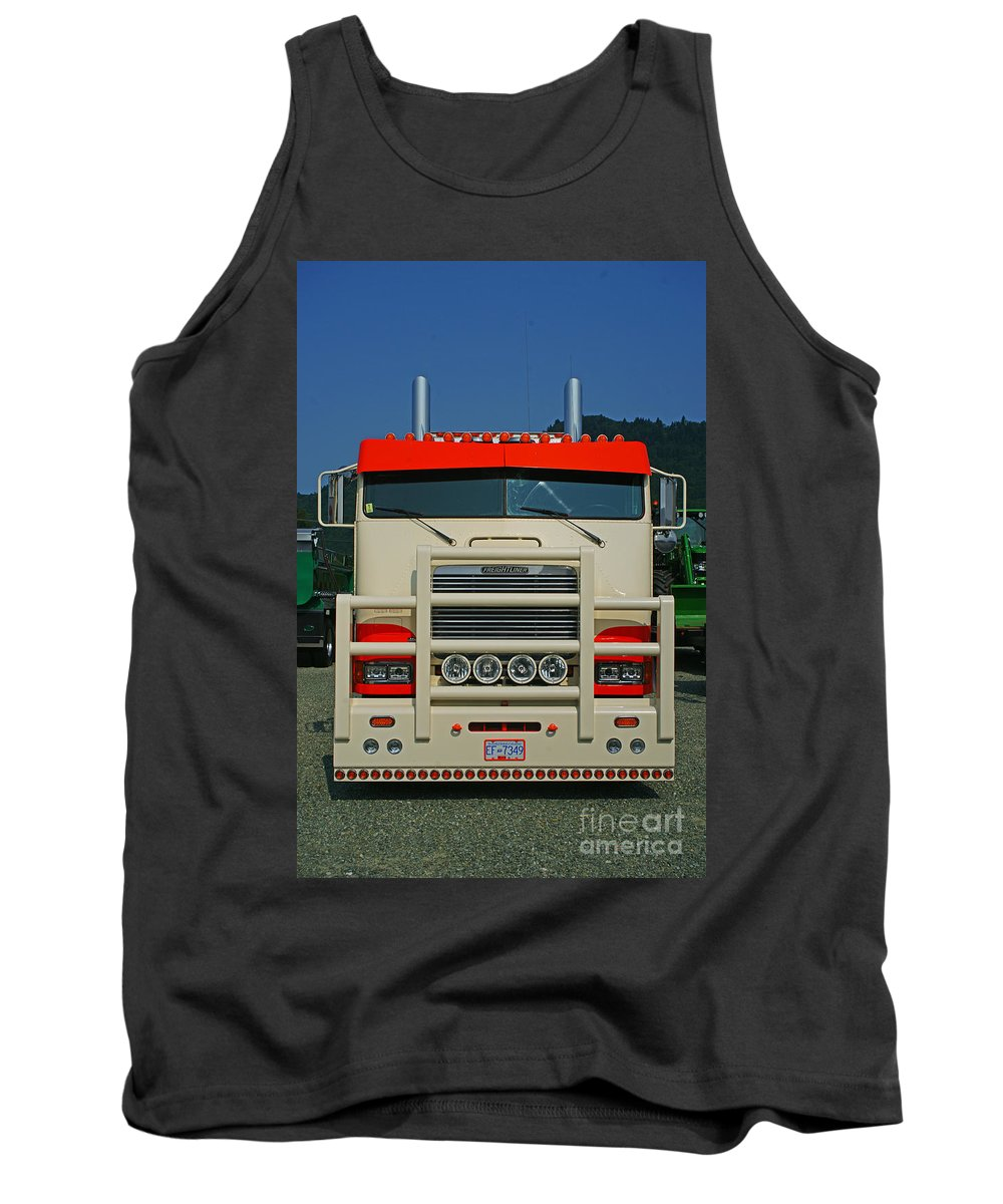 Trucks Tank Top featuring the photograph Tr0272-12 by Randy Harris