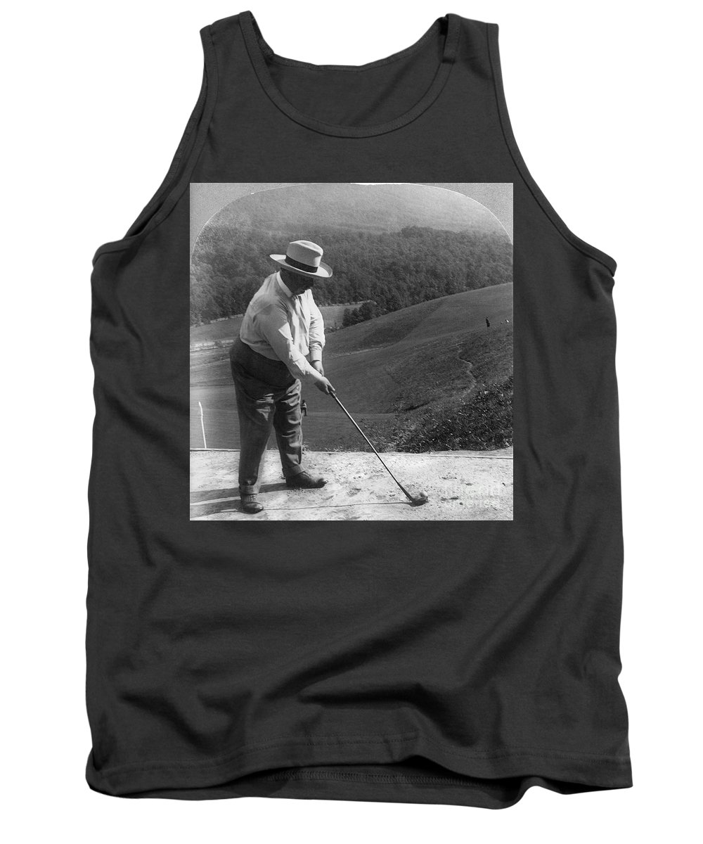 1908 Tank Top featuring the photograph William Howard Taft by Granger