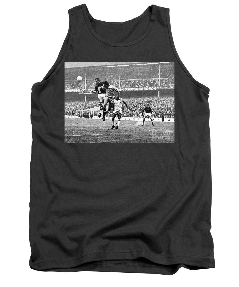 1966 Tank Top featuring the photograph World Cup, 1966 by Granger