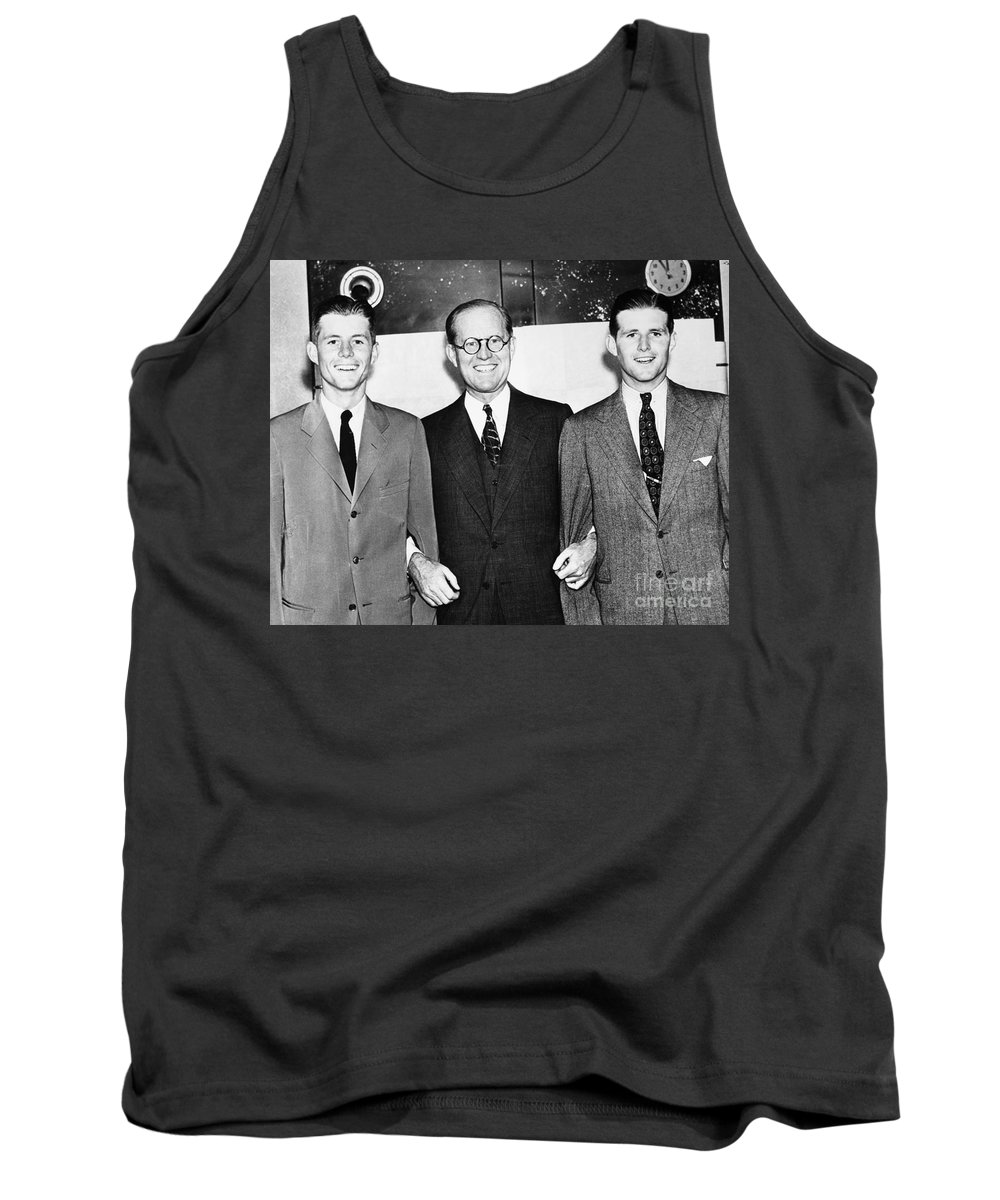 1938 Tank Top featuring the photograph John F. Kennedy (1917-1963) by Granger