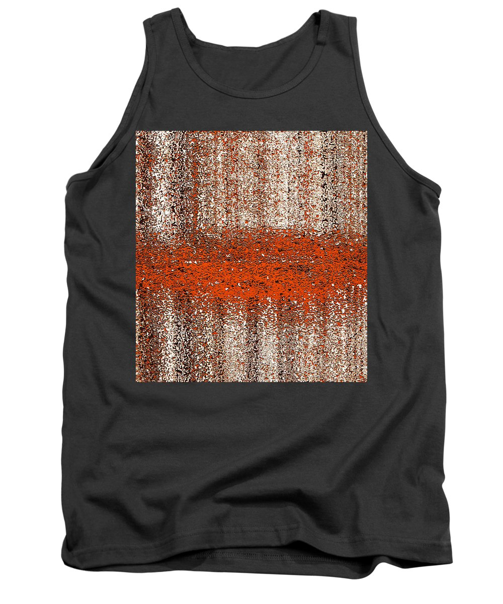 Tank Top featuring the digital art Color Rust by Mihaela Stancu
