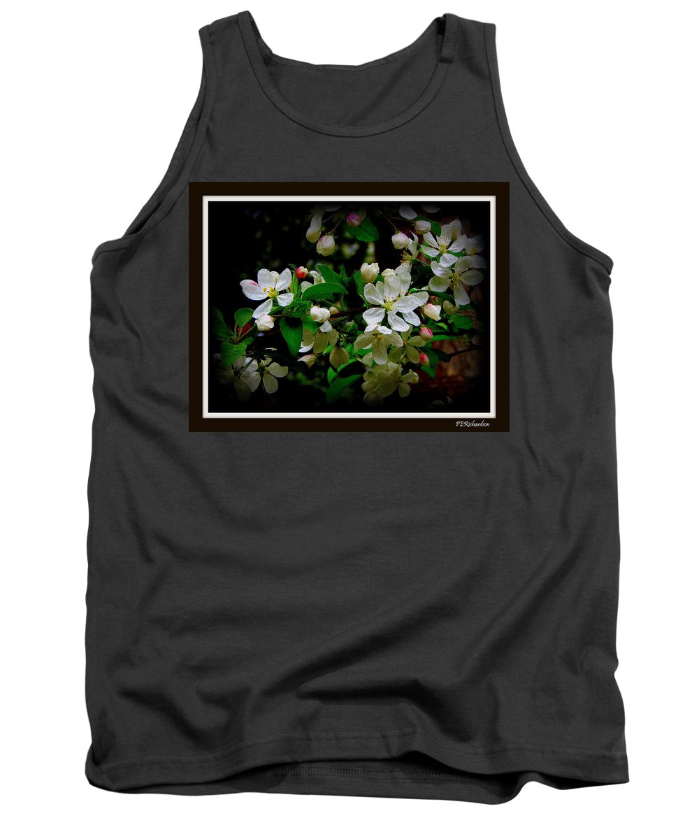 Apple Tank Top featuring the photograph Crabby by Priscilla Richardson