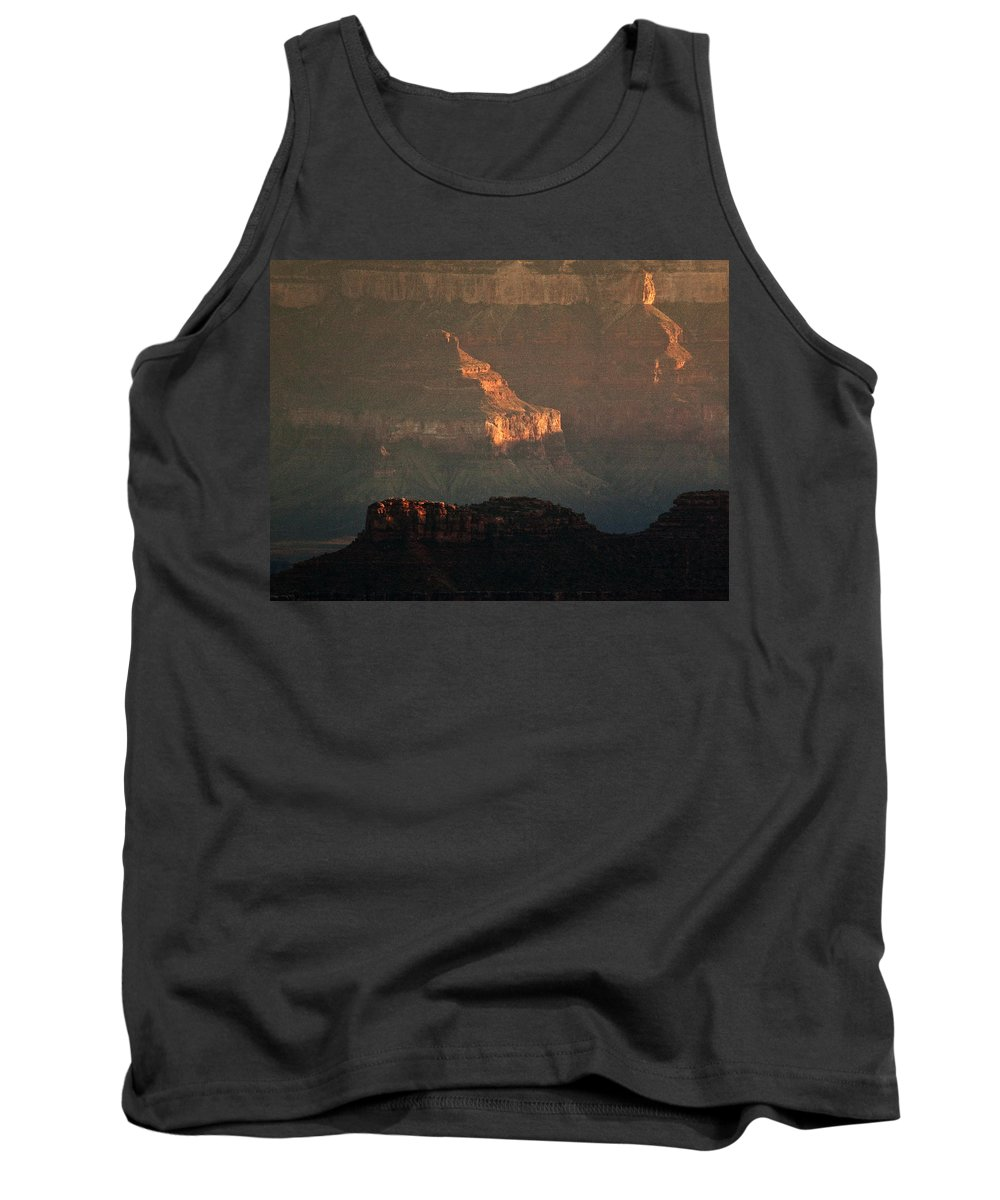 Usa Tank Top featuring the photograph Grand Canyon by Aurica Voss