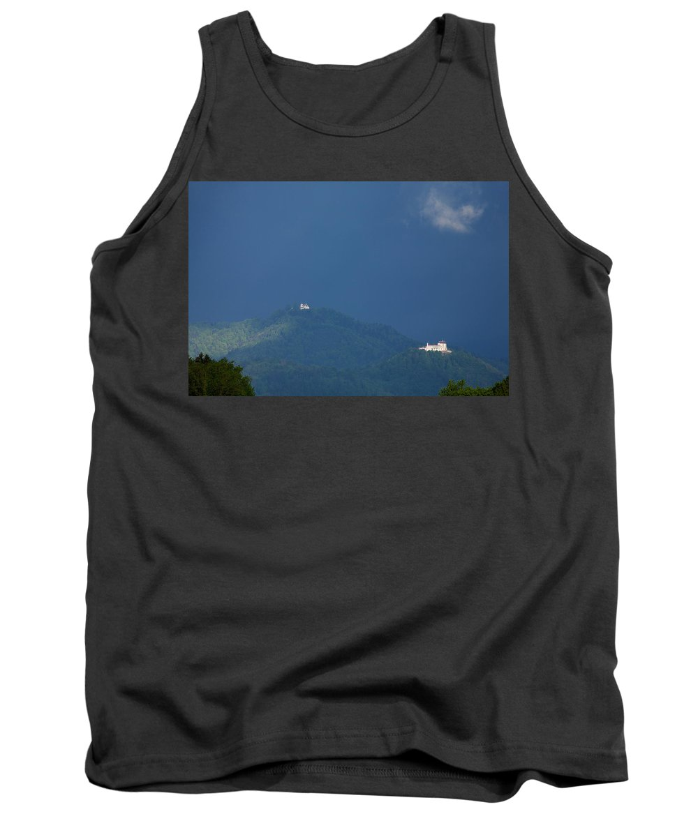 Church Tank Top featuring the photograph Morning Has Broken by Ian Middleton