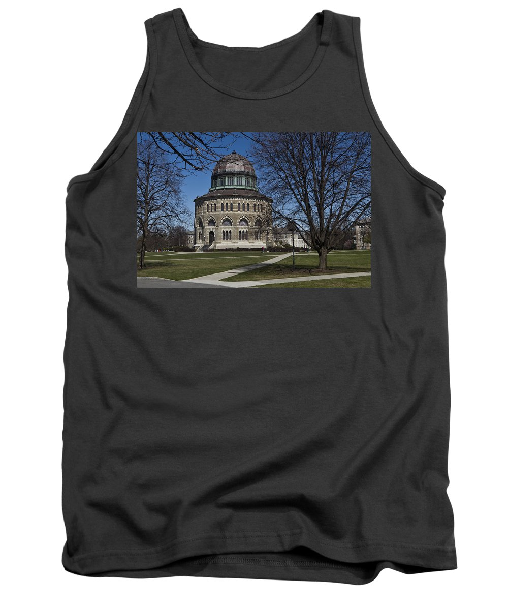 Nott Tank Top featuring the photograph Nott Memorial Building At Union College by Jiayin Ma