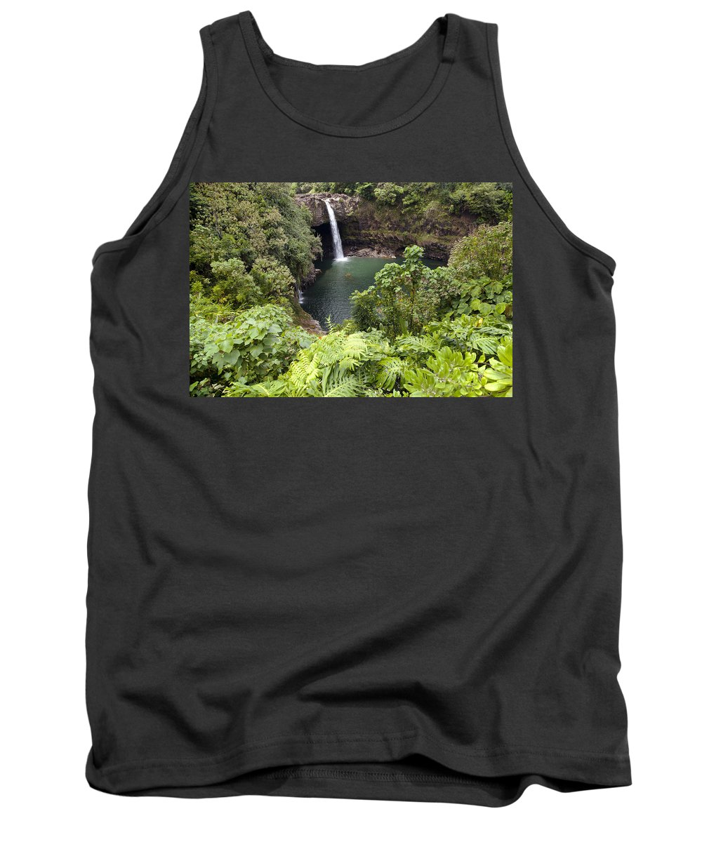 Big Tank Top featuring the photograph Rainbow Falls by Peter French