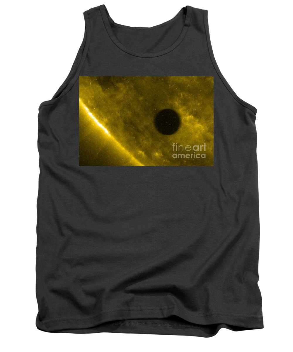 Infocus83 Tank Top featuring the photograph Venus Transit, Trace Image by Nasa