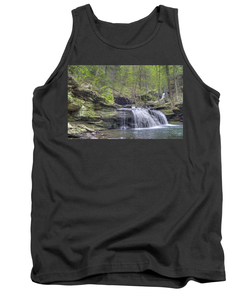 Cloudland Canyon Tank Top featuring the photograph Waterfall by David Troxel