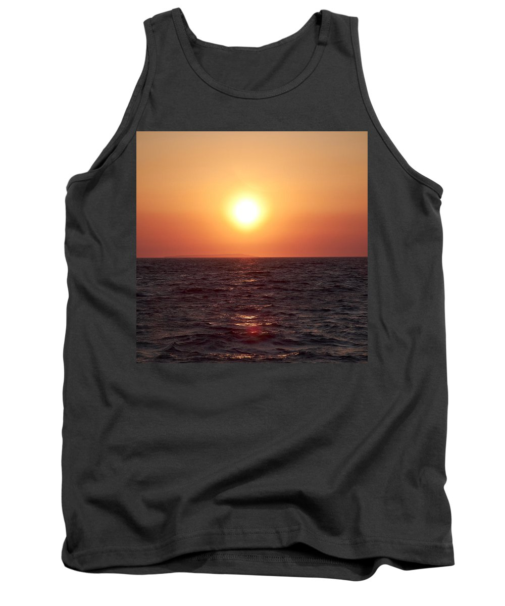 2012 Tank Top featuring the photograph On The Way To Ilovik by Jouko Lehto