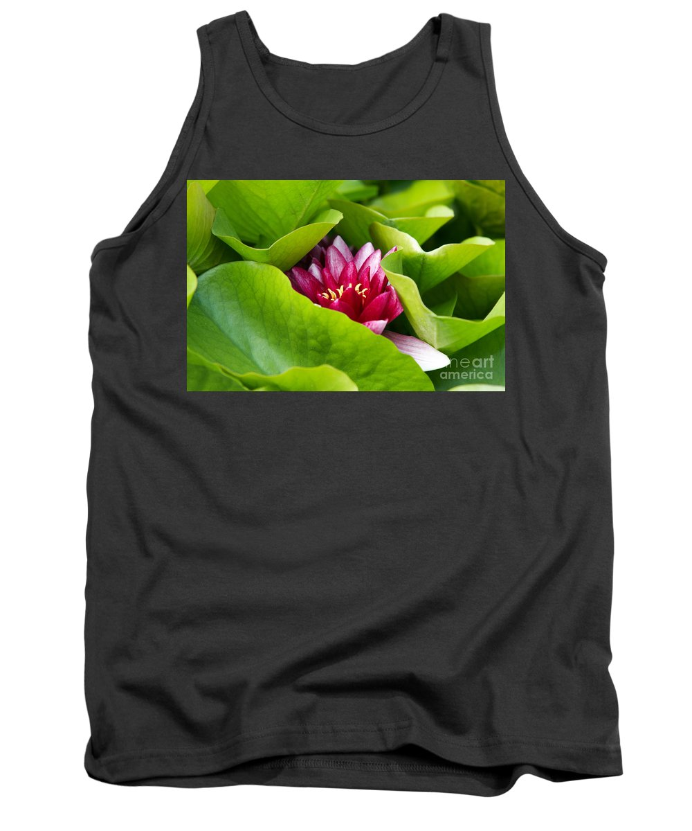 Lily Tank Top featuring the photograph Waterlily by Michal Boubin