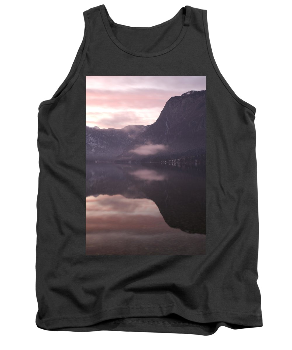 Bohinj Tank Top featuring the photograph First Sunset Of The Year by Ian Middleton