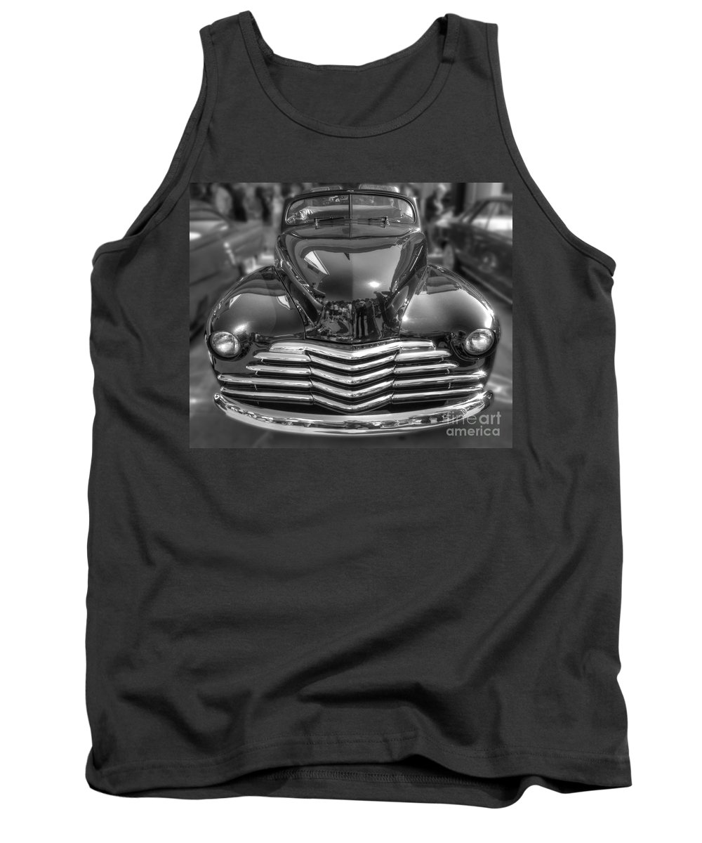 Chevy Tank Top featuring the photograph 48 Chevy Convertible by Anthony Wilkening