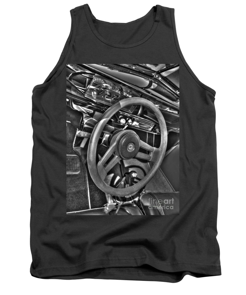 Chevy Tank Top featuring the photograph 48 Chevy Convertible Interior by Anthony Wilkening