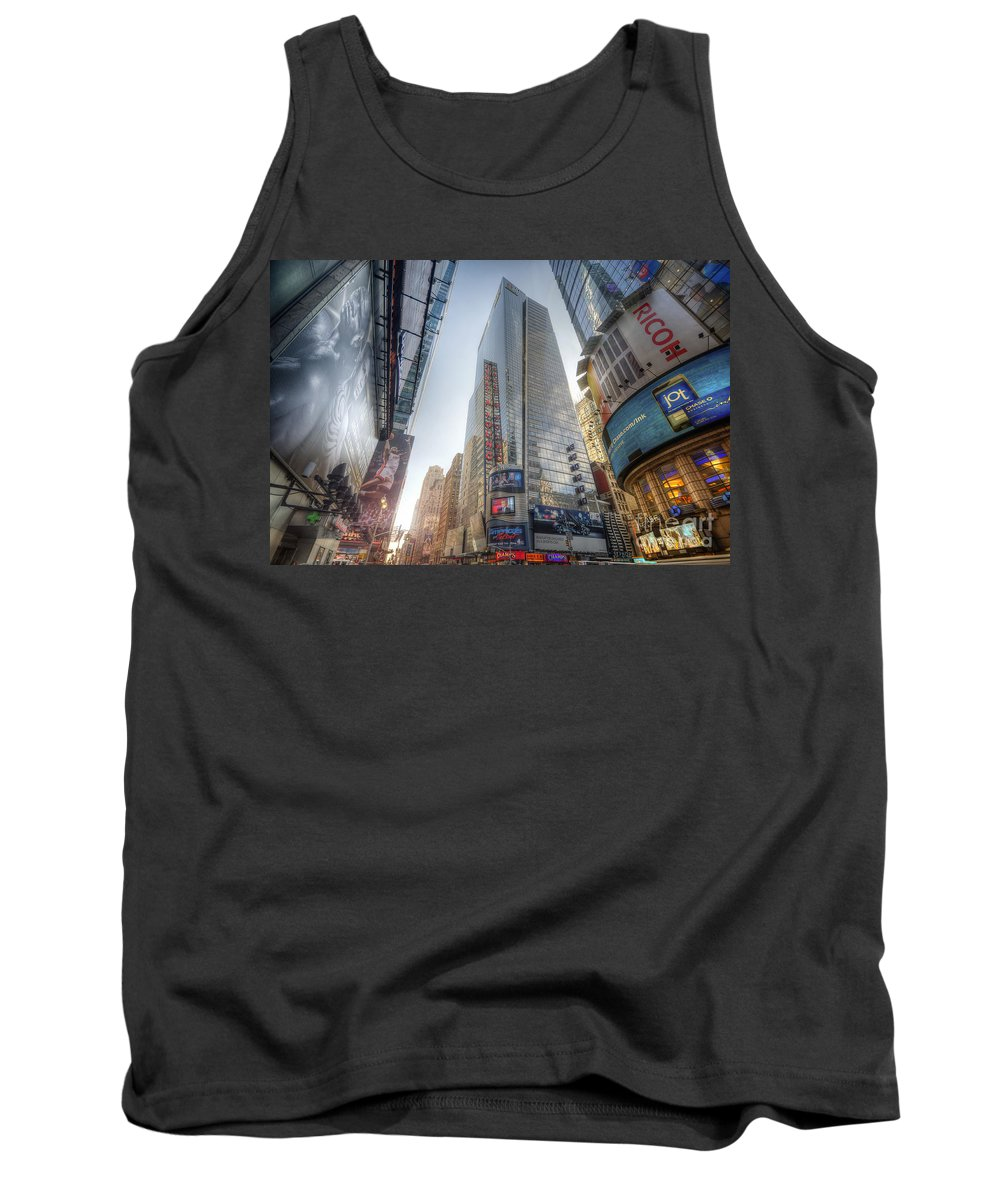 Yhun Suarez Tank Top featuring the photograph 7th Street Nyc by Yhun Suarez