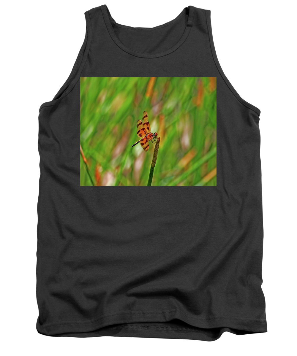 Tank Top featuring the photograph 8- Dragonfly by Joseph Keane