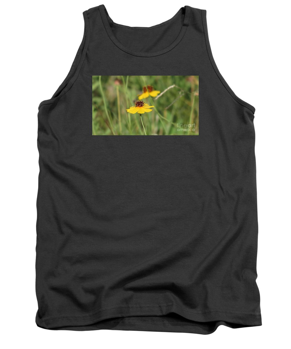Bug Tank Top featuring the photograph A Bugs Life by Elizabeth Harshman