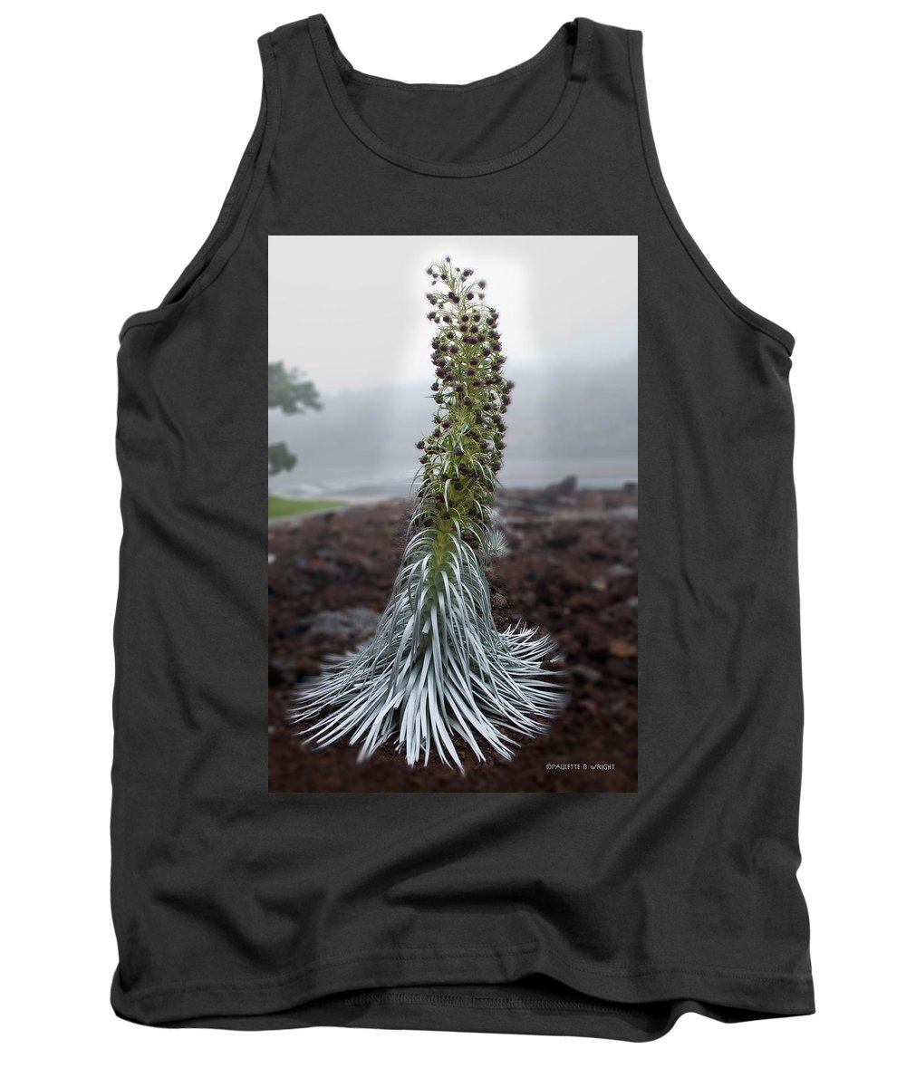 Nature Tank Top featuring the photograph A Kiss Before Dying by Paulette B Wright