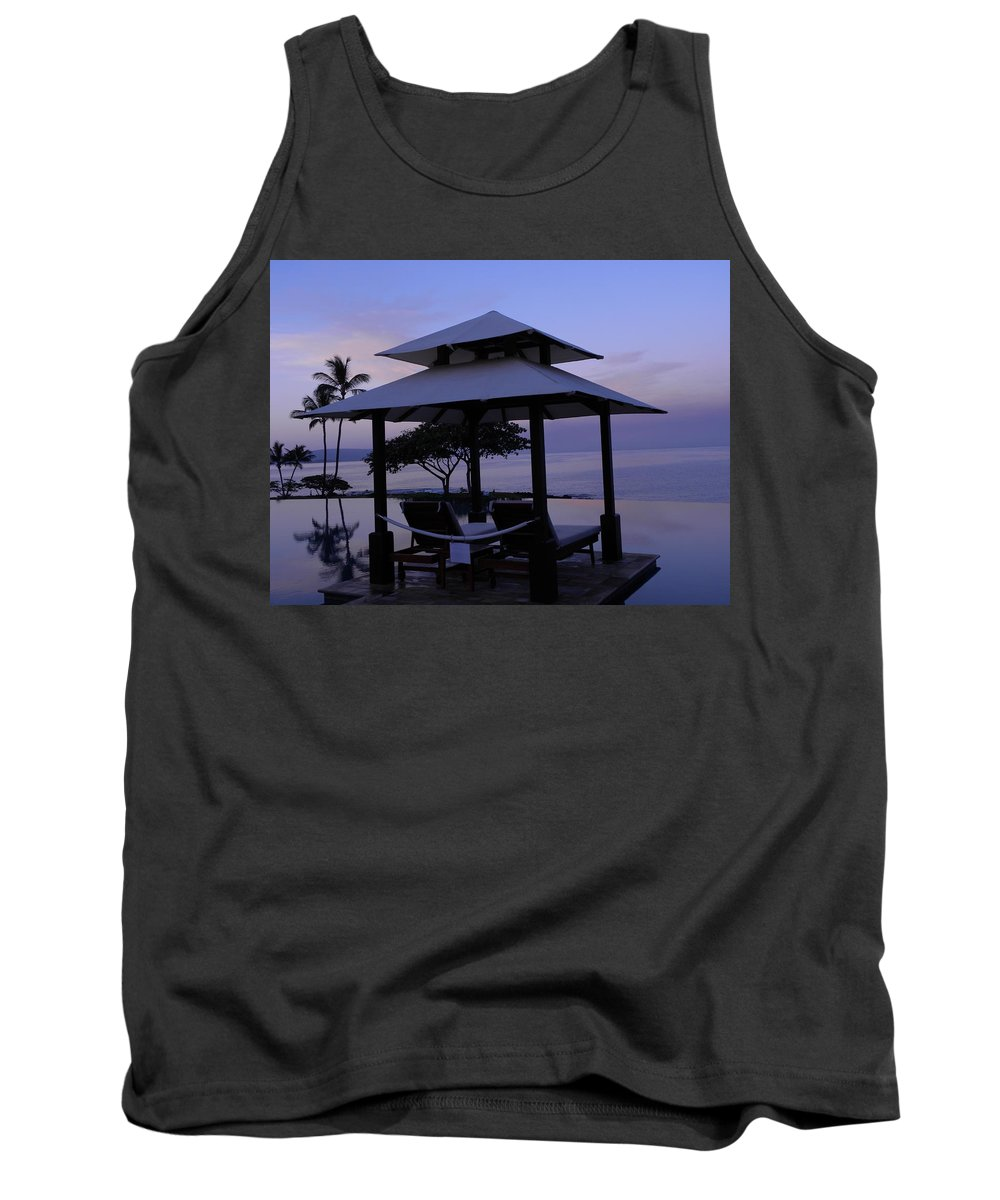 Sunrise Tank Top featuring the photograph A New Day by Peggy McDonald