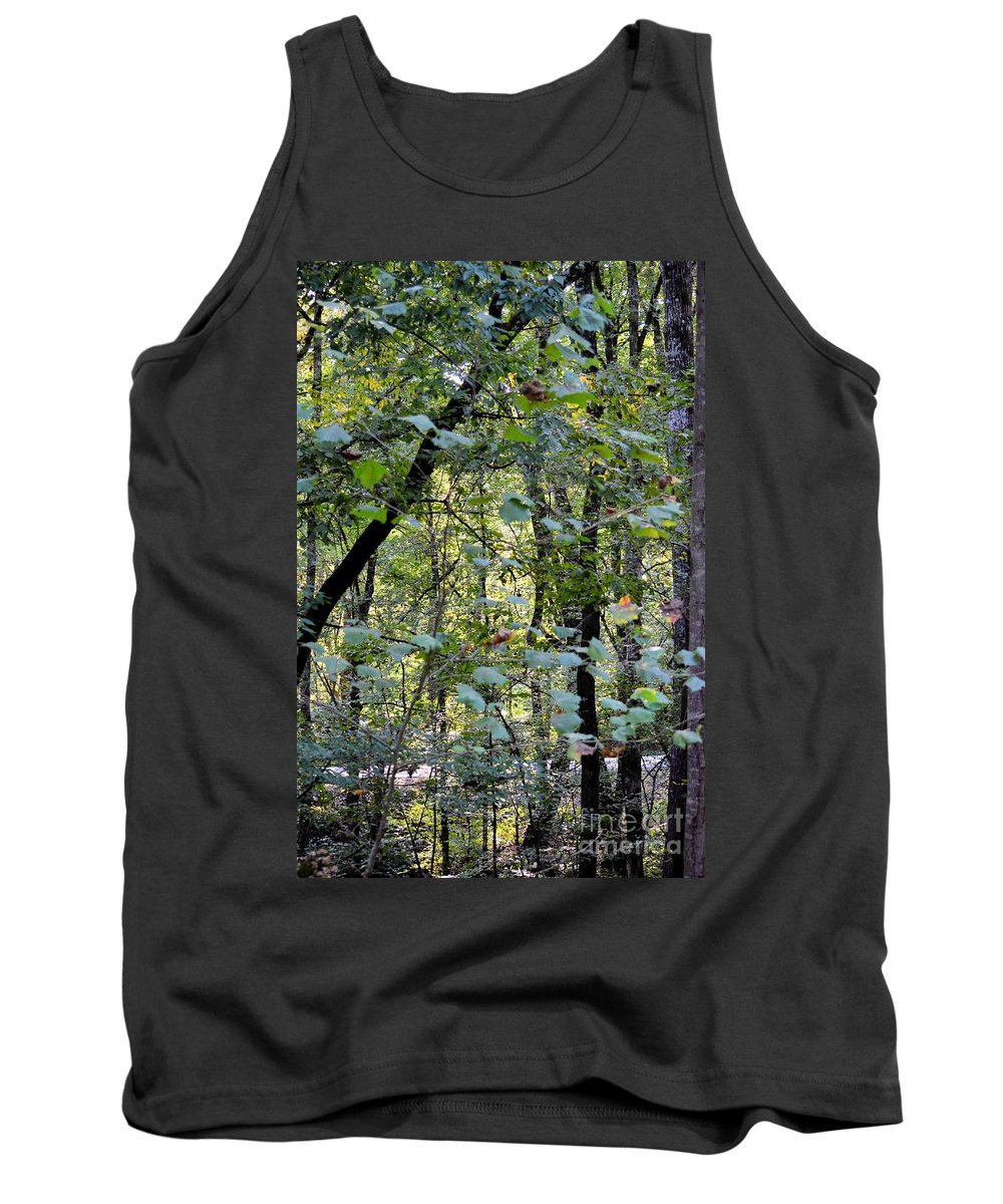 A Place Like This Tank Top featuring the photograph A Place Like This by Maria Urso