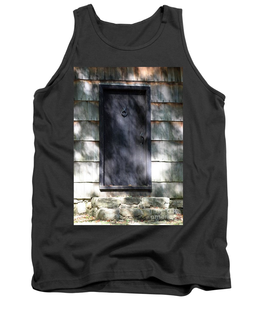 Door Tank Top featuring the photograph A Very Old Door by Living Color Photography Lorraine Lynch