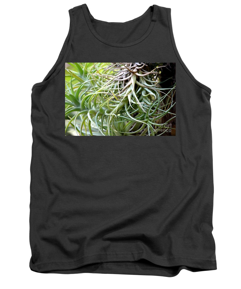 Alien Tank Top featuring the photograph Alien by Maria Urso