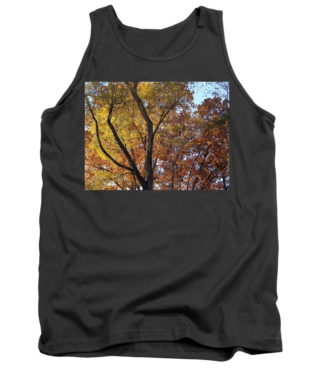 Bogue Street Tank Top featuring the photograph Along The River by Joseph Yarbrough
