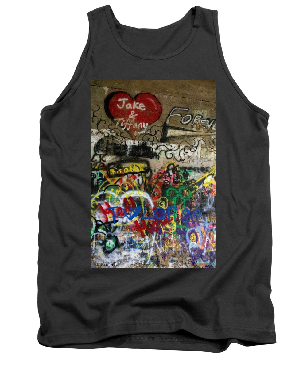American Graffiti 17- Jake From State Farm Tank Top featuring the photograph American Graffiti 17- Jake From State Farm by Ed Smith