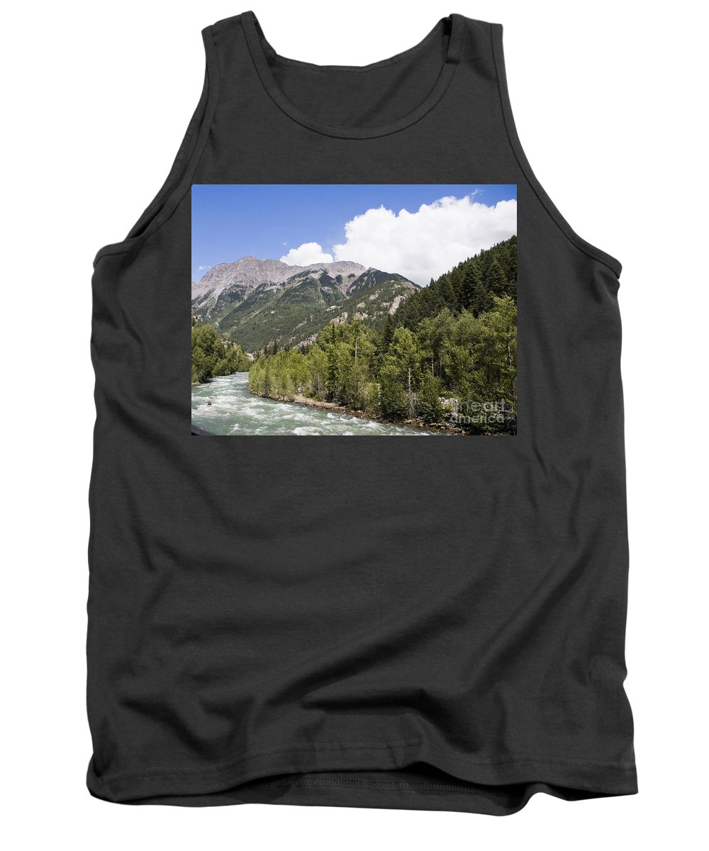 Cumbres & Toltec Tank Top featuring the photograph Animas River Colorado by Tim Mulina