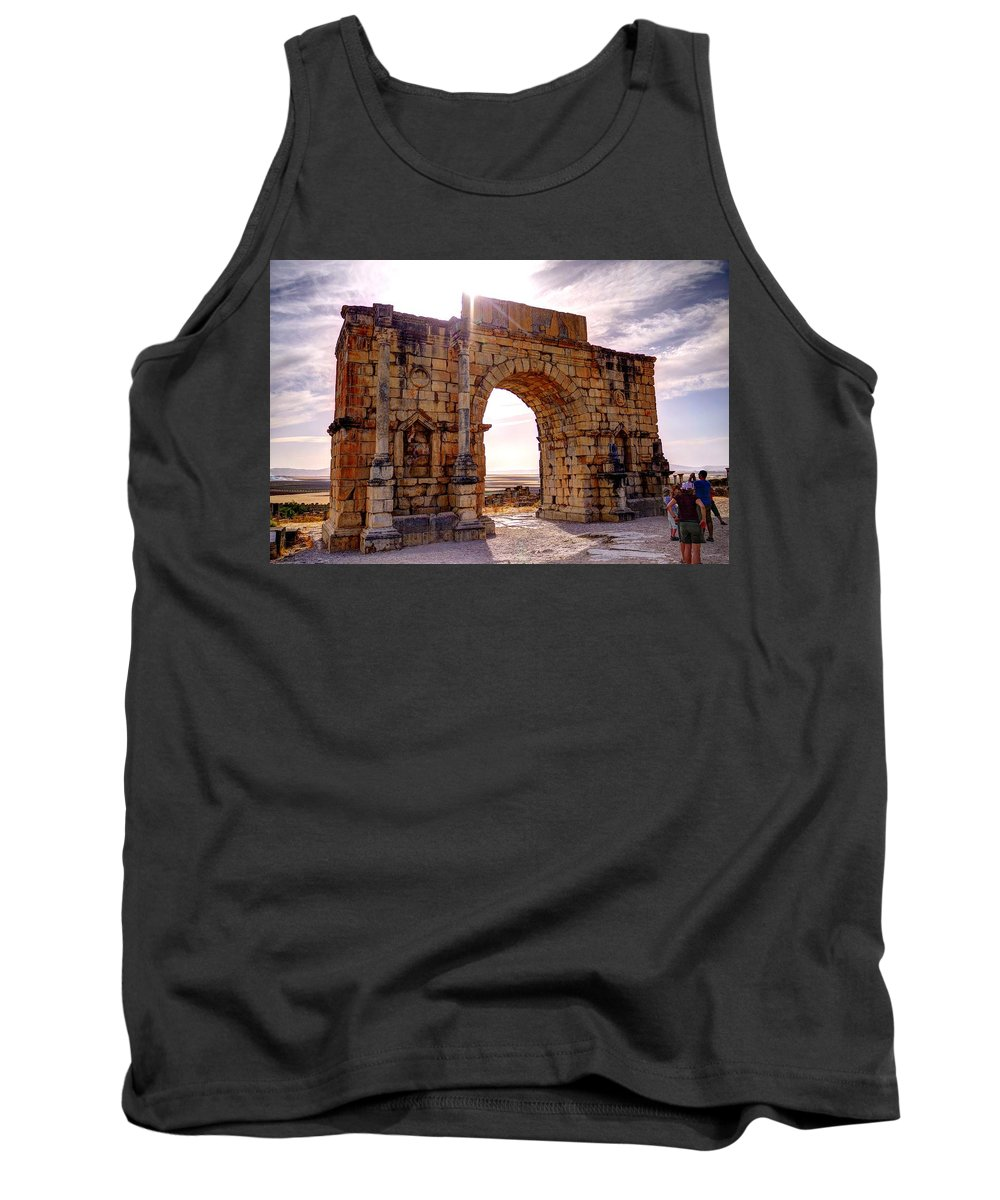 Arch Tank Top featuring the photograph Arch Of Triumph by Ivan Slosar