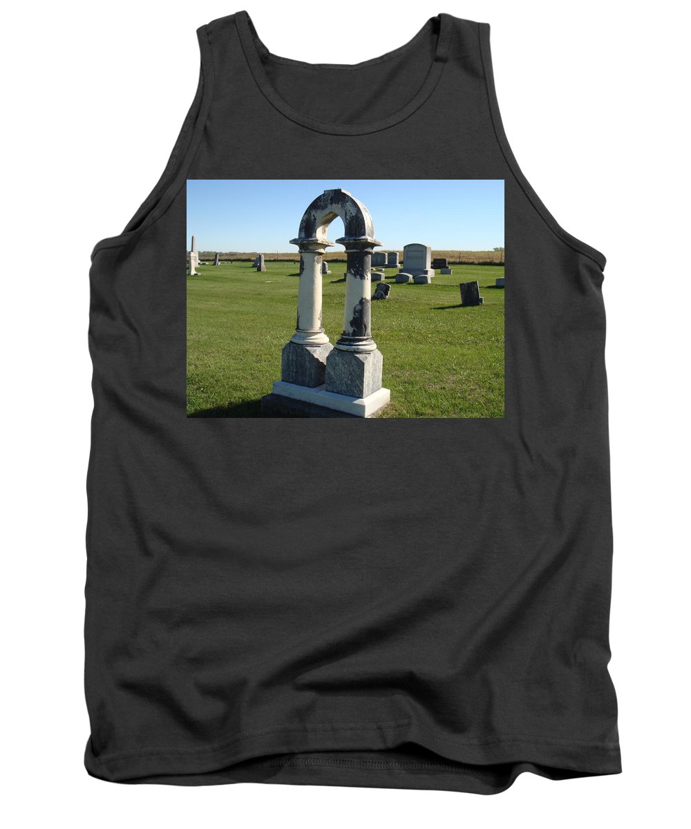 Tombstone Tank Top featuring the photograph Arch Tombstone by Bonfire Photography