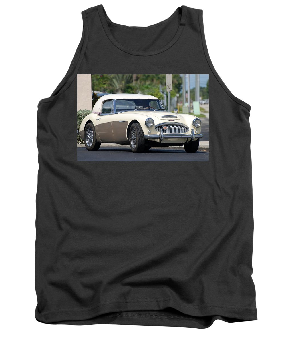 1960 Tank Top featuring the photograph Austin Healey by Rob Hans