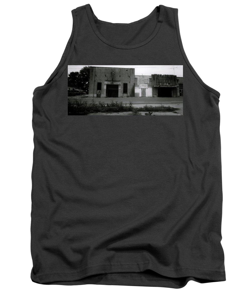 Louisiana Tank Top featuring the photograph B 12 Recording Studio by Doug Duffey