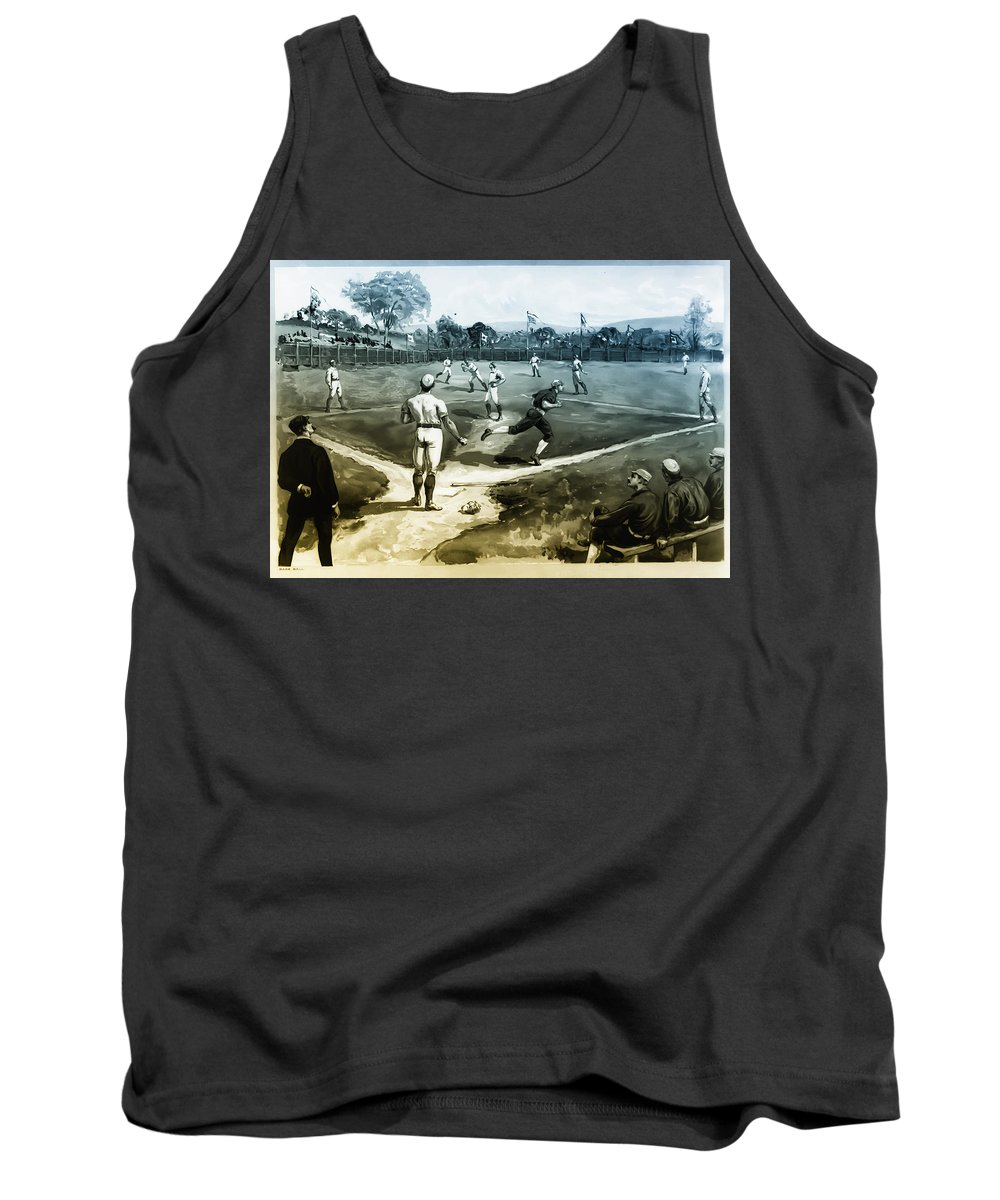 Baseball Tank Top featuring the photograph Baseball by Bill Cannon