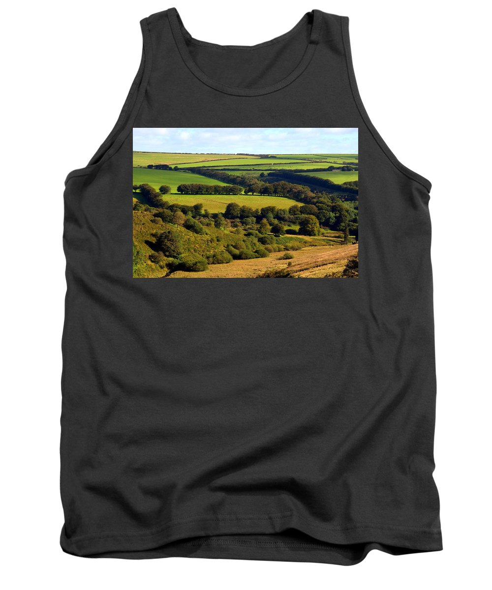 Somerset Tank Top featuring the photograph Beautiful Somerset by Carla Parris