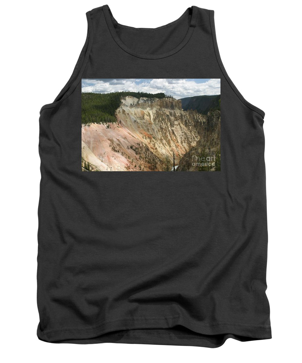 Grand Canyon Tank Top featuring the photograph Beauty Of The Grand Canyon In Yellowstone by Living Color Photography Lorraine Lynch