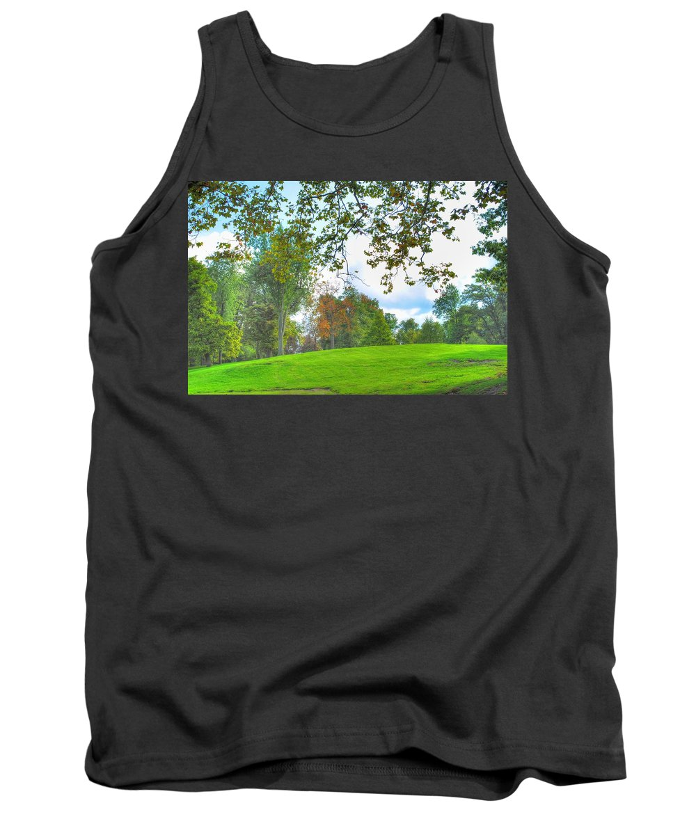 Tank Top featuring the photograph Beginning Of Fall by Michael Frank Jr