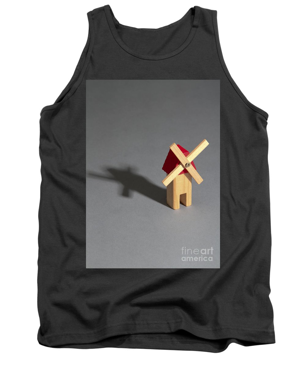 Blur Tank Top featuring the photograph Behavior Of A Shadow Vertical, Photo 3 by Photo Researchers