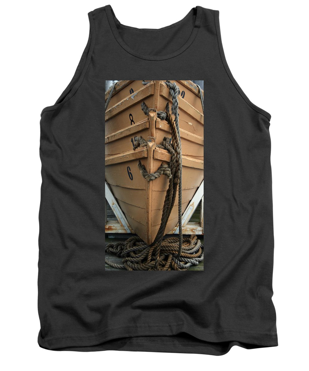 Boat Tank Top featuring the photograph Boat 0004 by Carol Ann Thomas